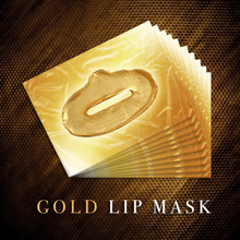 Load image into Gallery viewer, Gold Collagen & Hyaluronic Lip Masks