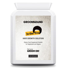 Load image into Gallery viewer, Groomarang 'In The Fro' Hair Growth Tablets
