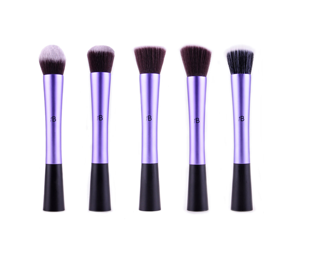 5pc IB Brush Set Purple, Makeup Brushes by Forever Cosmetics