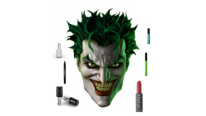 Halloween Joker Makeup Set - Hair Mascara Version