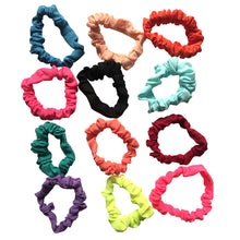 Load image into Gallery viewer, Glamza Mixed Bag Hair Scrunchies 12 Pack - Velvet and Standard