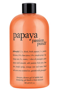 Philosophy Papaya Passion Punch Shampoo Shower Gel & Bubble Bath