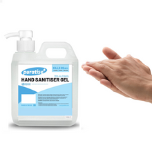 Load image into Gallery viewer, Puratise 1 Litre Hand Sanitiser Gel