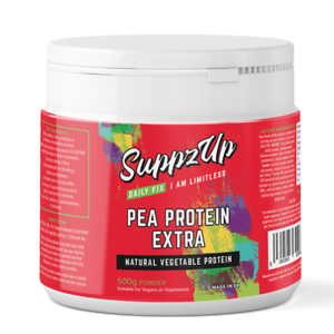 SUPPZUP Pea Proetein Extra 500g - Vegan & Vegetarian Friendly!!
