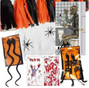 Halloween Decoration Bundle by  Forever Cosmetics
