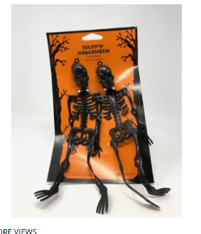 Halloween Skeleton Decorations by  Forever Cosmetics