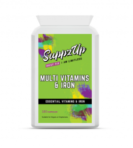 SuppzUp Multi Vitamins & Iron - 180 Tablets