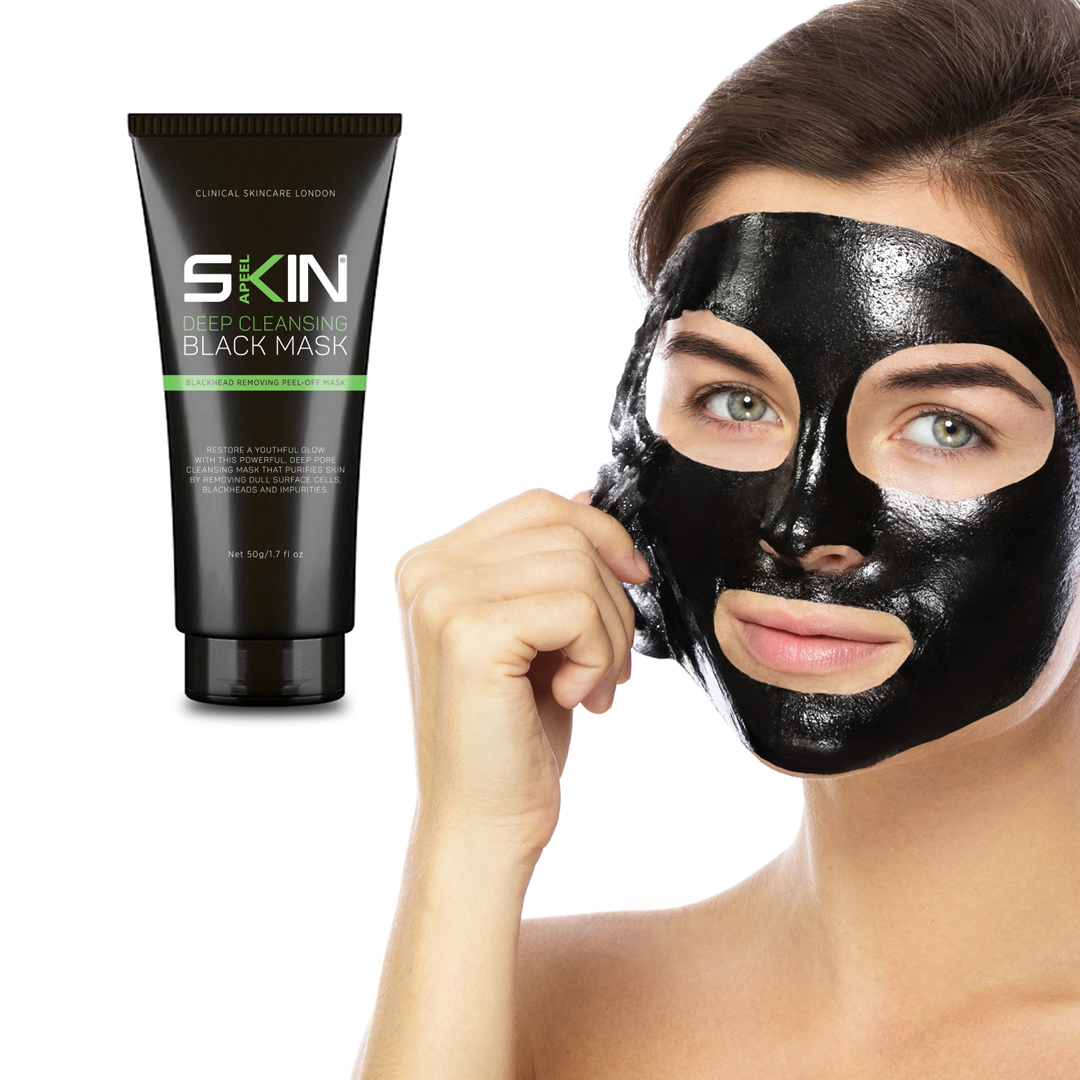 Skinapeel Deep Cleansing Black Mask - Blackhead Removing Peel off Mask - 50g by  Forever Cosmetics