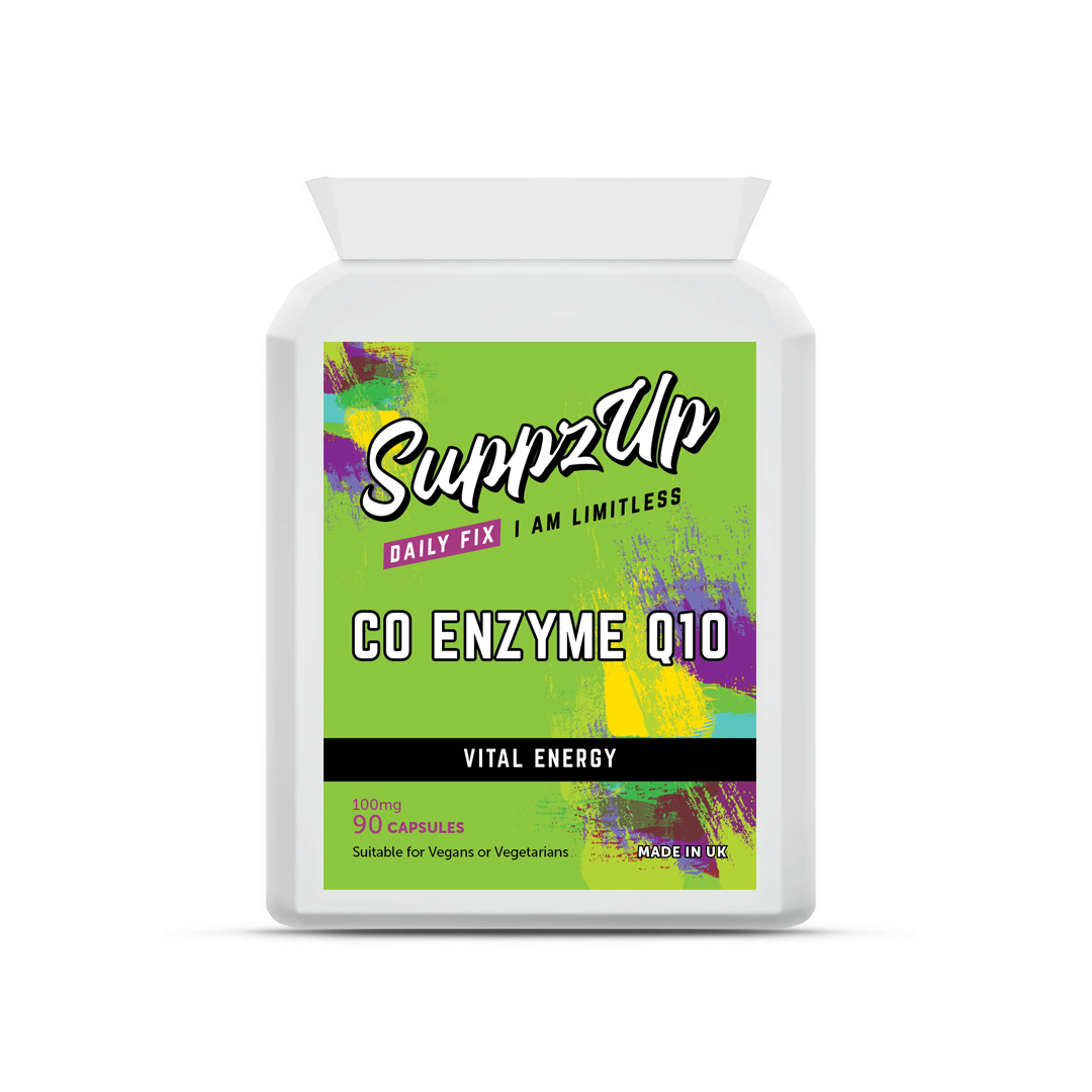 SuppzUp COQ10 100mg - 90 Capsules, Health Care by Forever Cosmetics