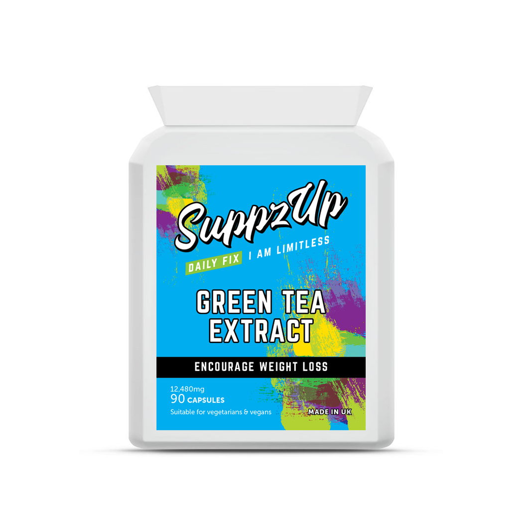 SUPPZUP- GREEN TEA 30:1 EXTRACT 12,480MG 90 CAPSULES
