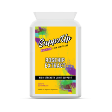 Load image into Gallery viewer, SuppzUp Rosehip Extract 5000mg - 120 Tablets