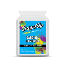 Load image into Gallery viewer, SuppzUp Garcinia Cambogia 500mg 90 Capsules