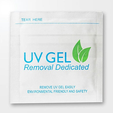 UV Gel Polish Removal Wraps - 200 Pack