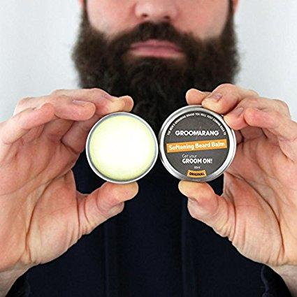 Groomarang Softening Beard Balm 60ml, Hair Styling Products by Forever Cosmetics
