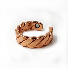 Load image into Gallery viewer, Acusoothe Magnetic Copper Rings - 6 Types