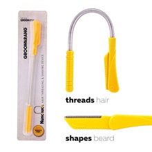 Load image into Gallery viewer, Groomarang 'Nunchuck' World's First Hair Threading and Shaving Device