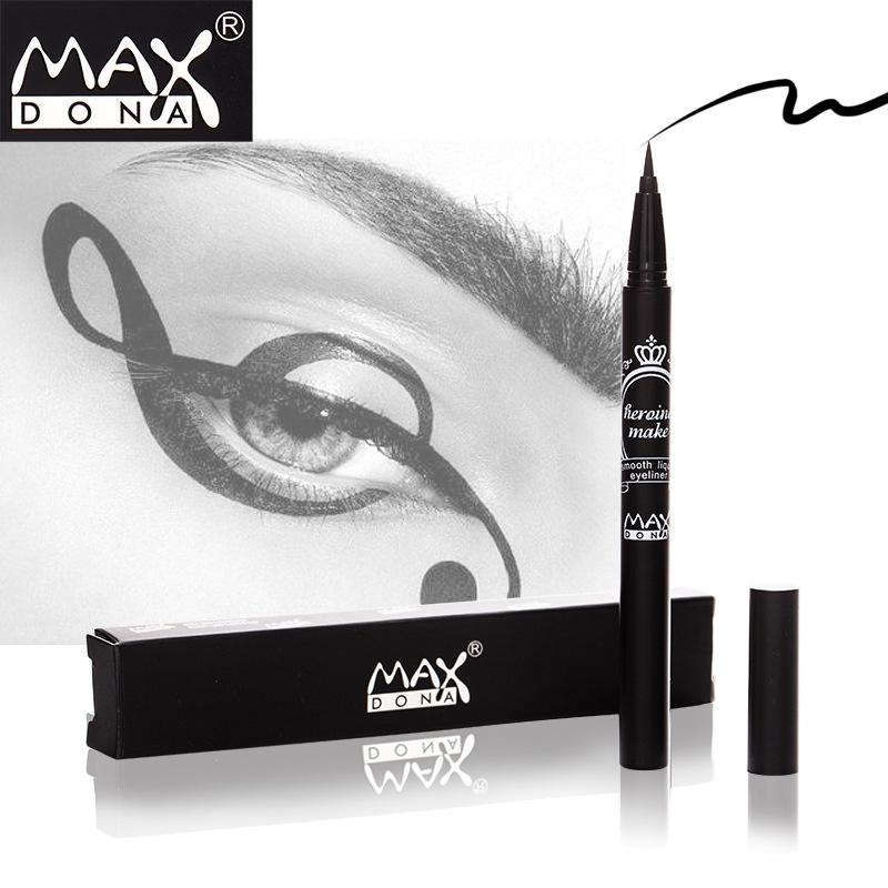 Maxdona Densely Jet Black Waterproof Liquid Eyeliner by  Forever Cosmetics