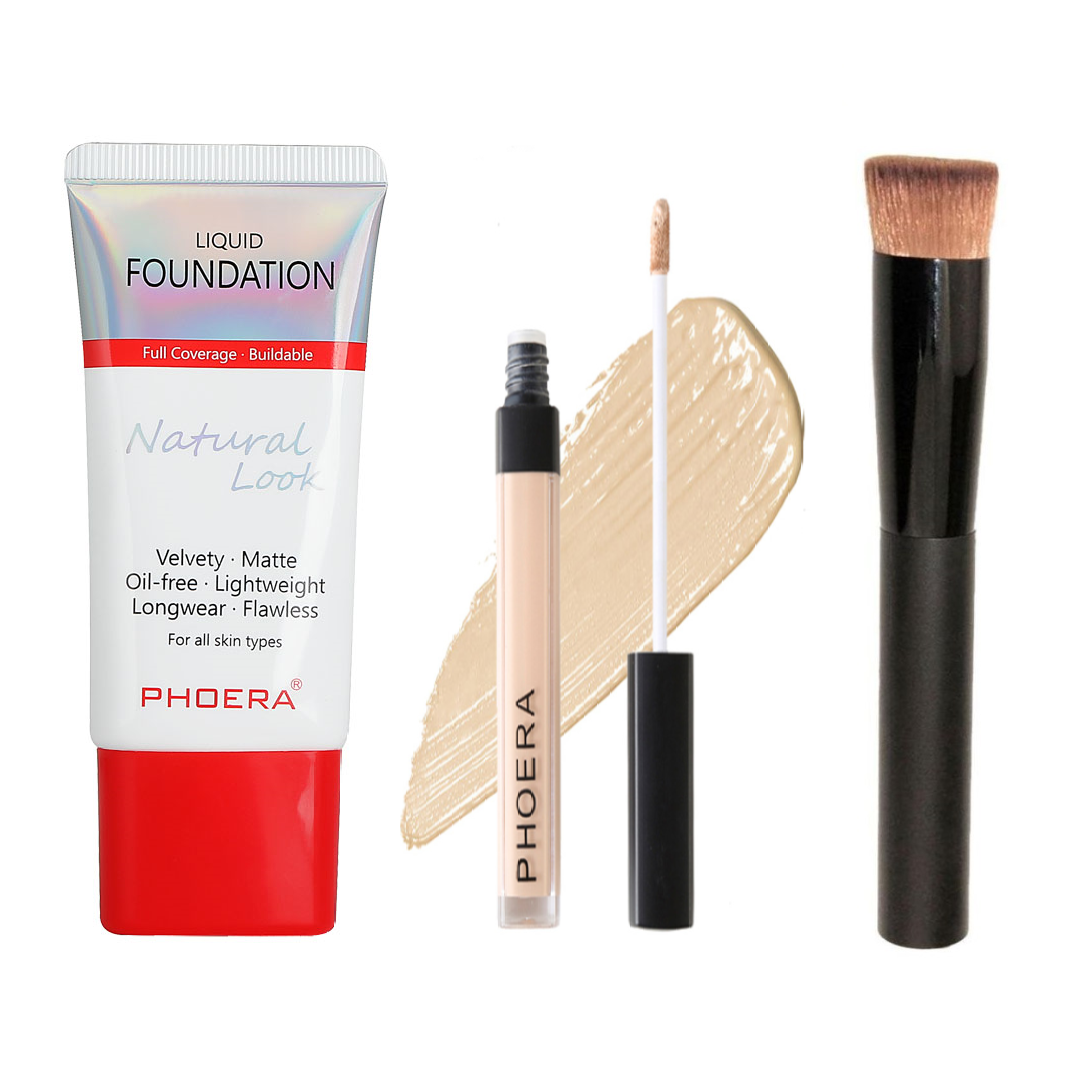 Perfect Base Makeup Kit 2 - 3pc, Face Makeup by Forever Cosmetics