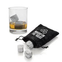 Load image into Gallery viewer, Granite Whiskey Ice Cooler Stones (Reusable)