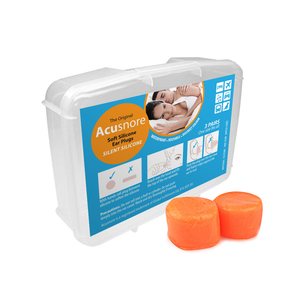 Acusnore Soft Silicone Ear Plugs (3 Pairs)
