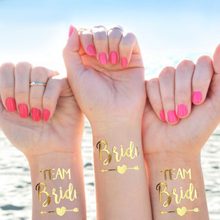 Load image into Gallery viewer, Glamza Metallic Tattoos