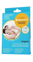 Load image into Gallery viewer, Acusnore Anti Snore 'Breathe Better' Nasal Strips