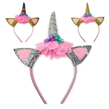 Load image into Gallery viewer, Magical Unicorn Headband