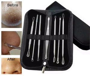 7pc Double Ended Blackhead, Pimple, Spot and Zit Removal Tool Kit