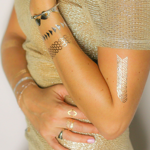 Glamza Metallic Tattoos