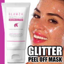 Load image into Gallery viewer, Glamza Deep Cleansing Unicorn Glitter Face Peel