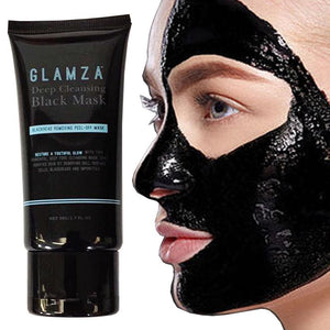 GLAMZA Deep Cleansing Black Mask - Blackhead Removing Peel off Mask 50g