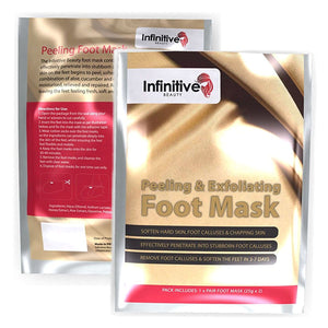 Infinitive Beauty Peeling and Exfoliating Foot Masks