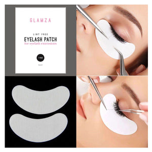 Glamza Dual Use Lint Free Eyelash Extension & Skin Tightening Patches