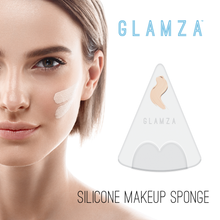 Load image into Gallery viewer, Glamza Triangle Silicone Make Up Sponge