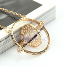 Load image into Gallery viewer, Magical Wizard Inspired Gold 'Sand of Time' Necklace