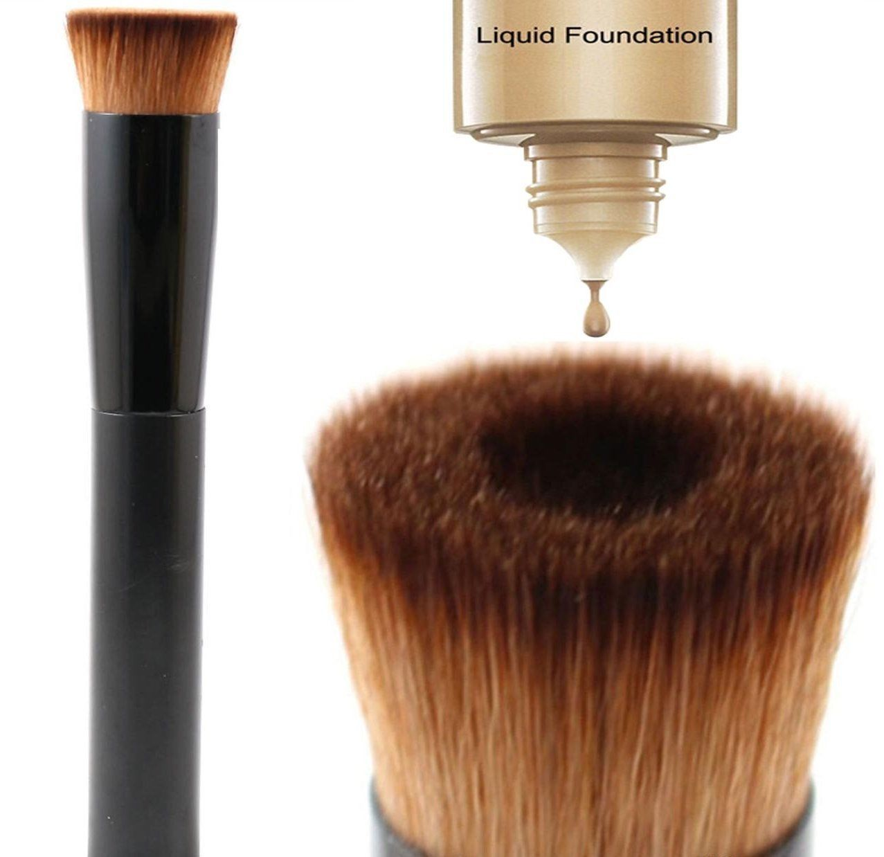 Glamza Liquid Foundation Brush, Cosmetic Tools by Forever Cosmetics