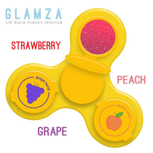 Glamza Novelty Lip Balm - 3 Fruity Flavours!!