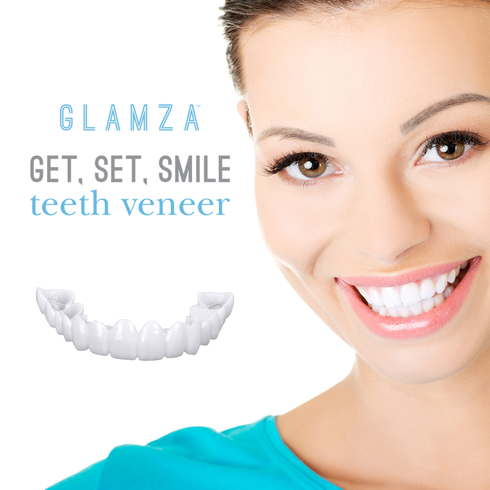 Glamza Get Set Smile Veneers, Oral Care by Forever Cosmetics