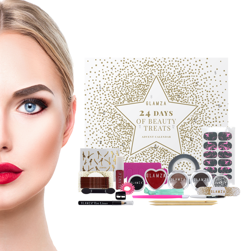 24 Day Beauty Advent Calendar by  Forever Cosmetics
