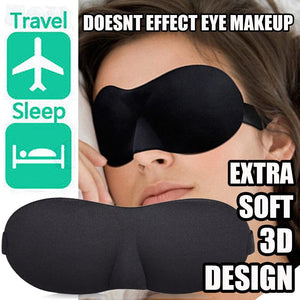 Glamza 3D Soft Padded Sleeping Mask