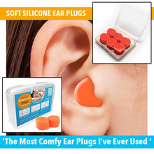 Load image into Gallery viewer, Acusnore Soft Silicone Ear Plugs (3 Pairs)
