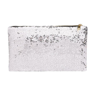 Glamza Dazzling Sequin Hand and Makeup Bag