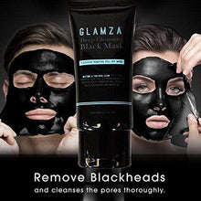 Load image into Gallery viewer, GLAMZA Deep Cleansing Black Mask - Blackhead Removing Peel off Mask 50g