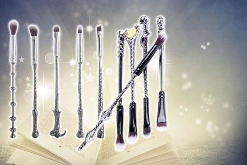 10pc Magical Wizard Brush Set by  Forever Cosmetics