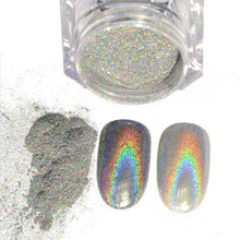 Load image into Gallery viewer, Magic Mirror Holographic Nail Powder