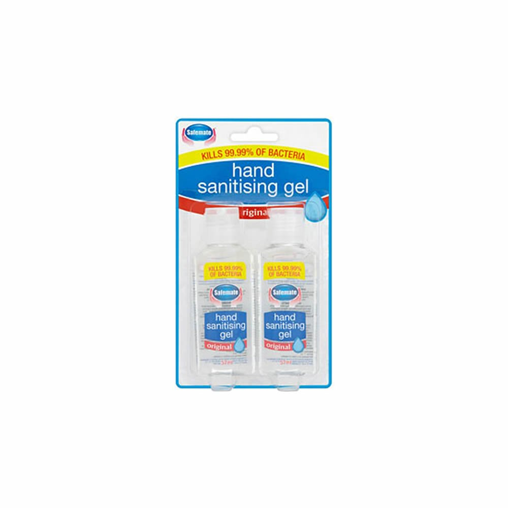 Hand Sanitisng Gel Original - Twin Pack, Health & Beauty by Forever Cosmetics