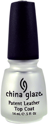 China Glaze Top Coat - Patent Leather