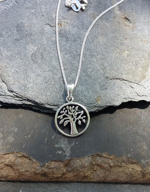 P486-Tree Of Life 925 silver pendant