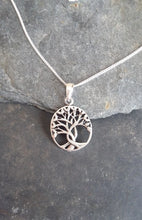 Load image into Gallery viewer, P521 - Oval tree of life pendant