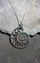 Load image into Gallery viewer, P696 - LARGE NAUTILUS PENDANT